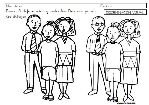 Ficha discriminacion visual 9
